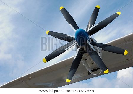 Rotor of a Antonov An-22