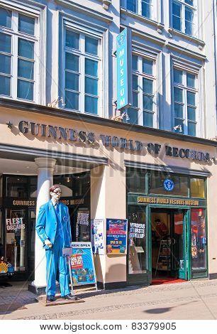 Denmark. Copenhagen. Guinness World Records Museum