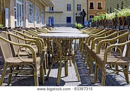 Wicker Rattan Furniture (tables And Chairs)