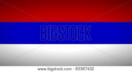 Flag Of Republika Srpska.