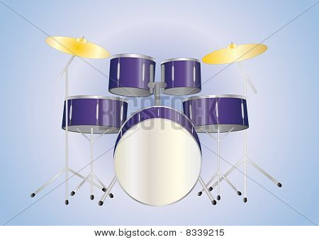 drumset purple