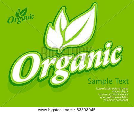 Concept Organic Banner