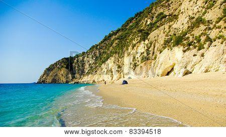 Egremni Beach, Lefkada Island, Ionion Sea, Greece