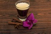image of cardamom  - Espresso with orchid beans cinnamon star - JPG
