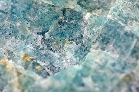 stock photo of feldspar  - Amazonite is a bluish - JPG