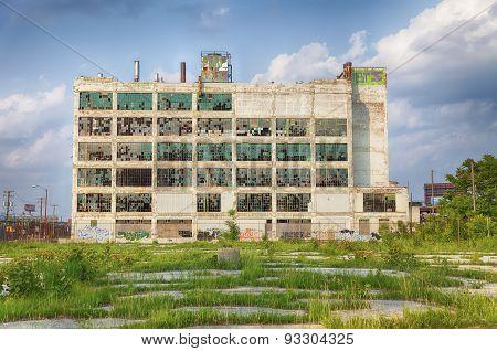 Detroit Factory Ruins