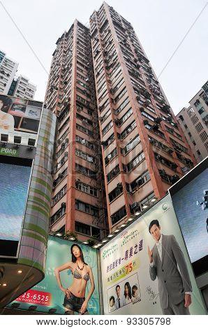 Hong Kong Apartment Building
