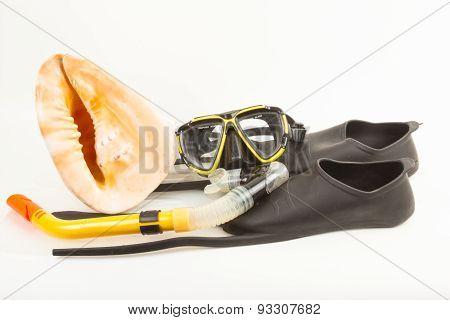 Set for snorkelling