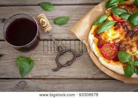 Taste Of Italy In The Pizza Margherita
