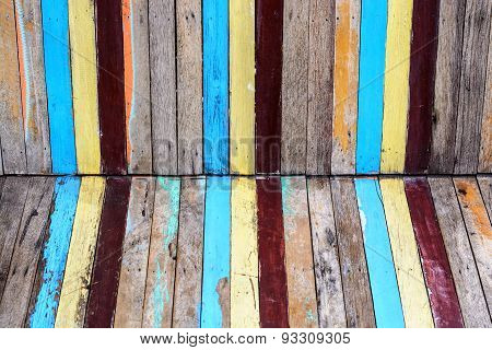 Slat Colourful