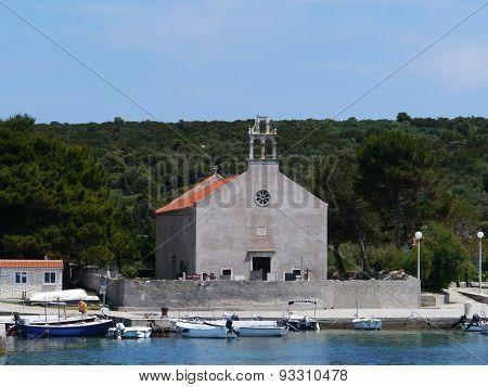 The island Premuda in the Mediterranean
