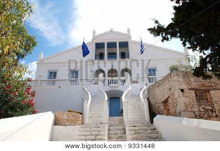 Town Hall, Halki island
