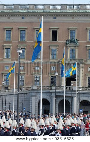 The Swedish Royal Castle Before The Wedding
