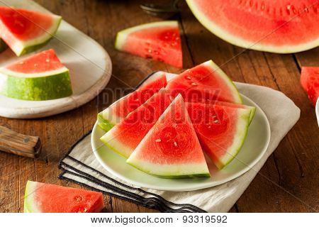 Organic Ripe Seedless Watermelon