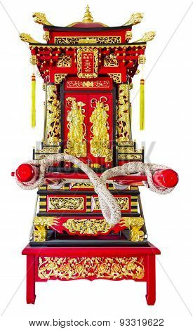 The Sedan Chair.