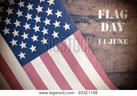 Usa Stars And Stripes Flag For Flag Day.