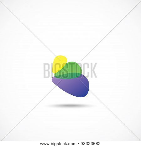 Design icon of petals