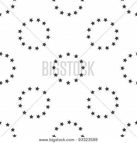 European Union emblem pattern