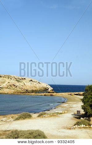 Koumbara Beach Ios Cyclades Greece