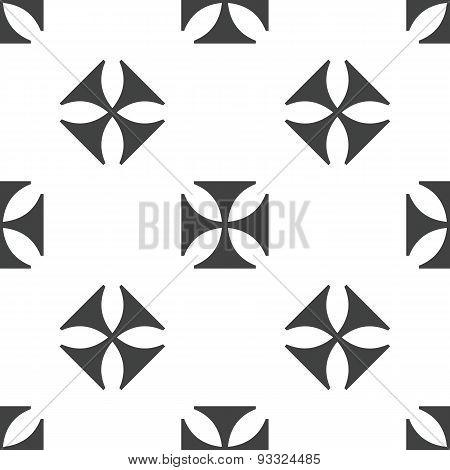 Maltese cross pattern