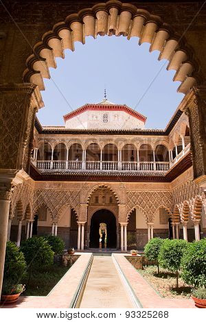 Patio Of Alcazar