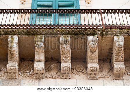 Baroque Mascarons