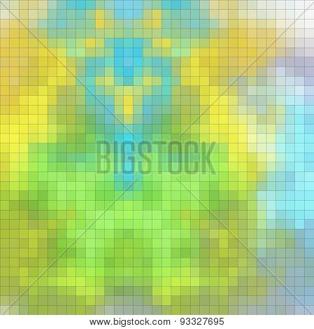 Abstract Pixelated Texture Or Pattern
