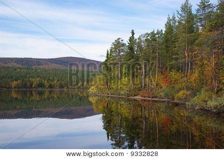 Autumn on north