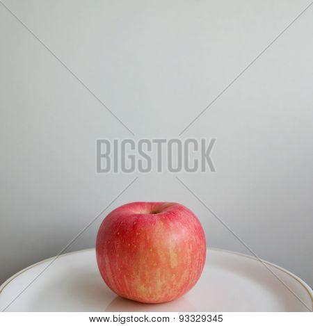 apple on background