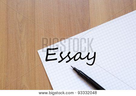 Essay Concept
