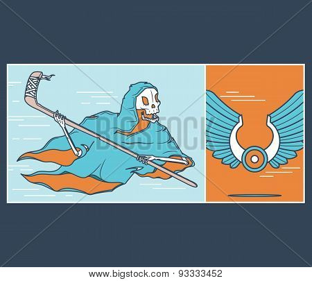 The Ice Hockey Reaper