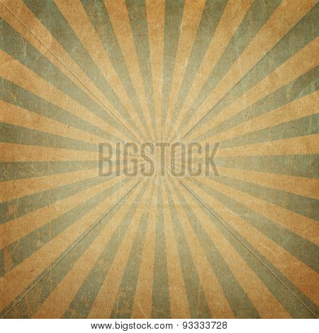 Vintage background rising sun