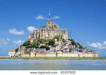 View Of Famous Mont-saint-michel