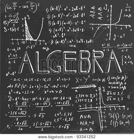01 Algebra Formula Board