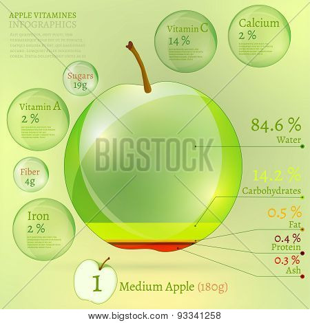 01 Apple Infographic