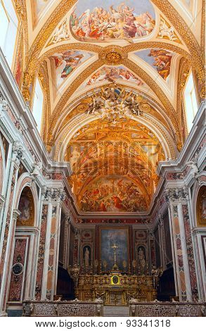 Church of Certosa di San Martino. Naples