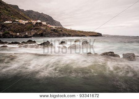 On Shore Of The Atlantic Ocean