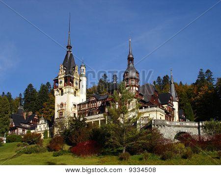 Peles Castle, Carpathian Mountains, Sinaia, Romania