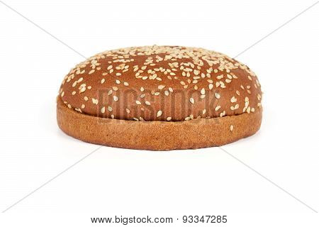 Dark Hamburger Bun