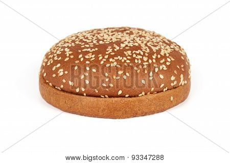 Dark Bun For Hamburger