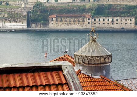 View To River Douro And Roofs Of Porto