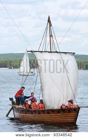 Reconstructed Ancient Boat