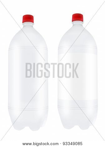 Empty Two Liter Plastic Bottles.