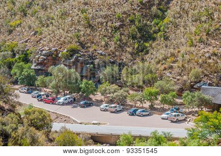 Parking And Picnic Area In Meiringspoort