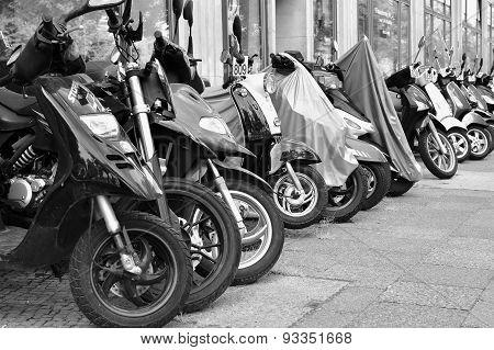 Scooters in Berlin