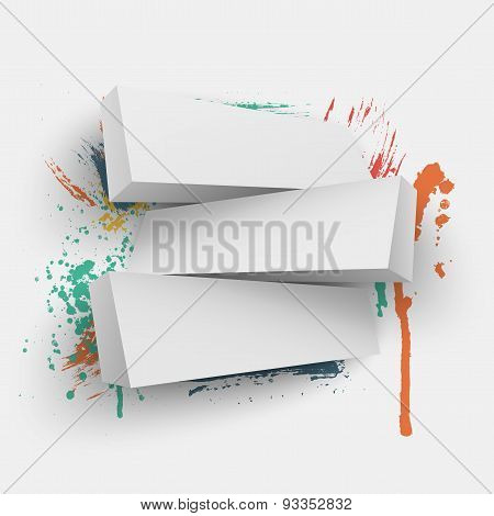 Abstract vector Illustration with place for text.