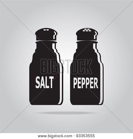 Salt And Pepper Bottle Icon