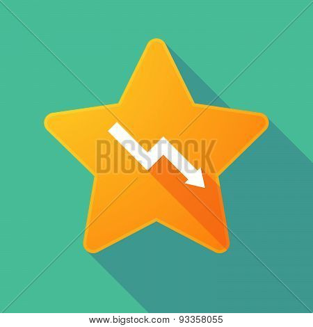 Long Shadow Star With A Graph
