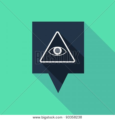 Tooltip Icon With An All Seeing Eye
