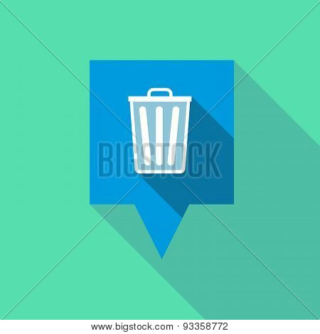 Tooltip Icon With A Trash Can